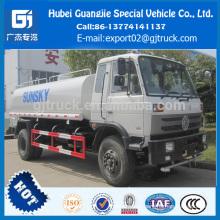 Caminhão de pulverização da água da movimentação de 4x2 RHD DongFeng / caminhão de tanque da água da movimentação da mão direita de Dongfeng com o caminhão da água de 9000-10000l