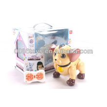 B/O walking mechanical remote controlled dog toys