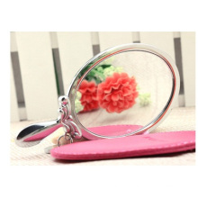 Promotional Metal Handle Mirrors, Stainless Steel Mirror for Gifts