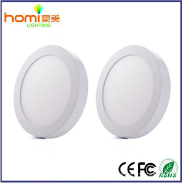 6W 80lm/w, surface square led panel light IC driver CE series 2 year warranty