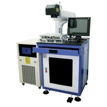 УФ зеленый волоконный лазер машина маркировки