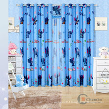 China kids cartoon curtains, curtain for kid, fabric for kids curtains