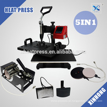 2017 Best Selling! 5IN1combo Transfer Machine