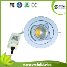 Cutting Size 110mm COB Rotatable LED Downlight with 3years Warranty