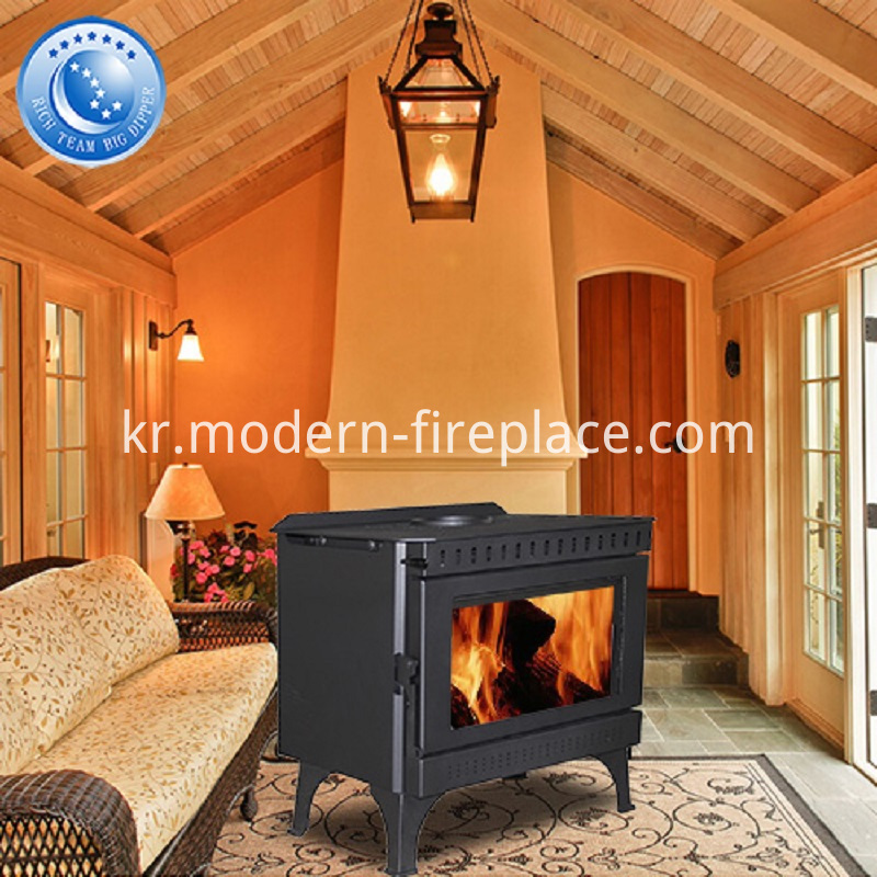 Hot Sell Steel Plate Fireplace 150mm Chimney