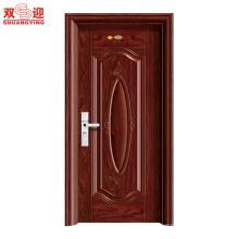 China-Lieferant meistverkauften Edelstahl Fotos Stahl Tür Design / Edelstahl Tür
