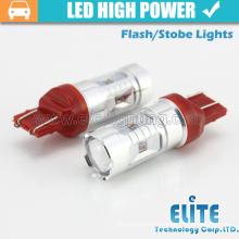 Newest!!! 30W 7443 T20 car led warning light Led Car Light Brake Light