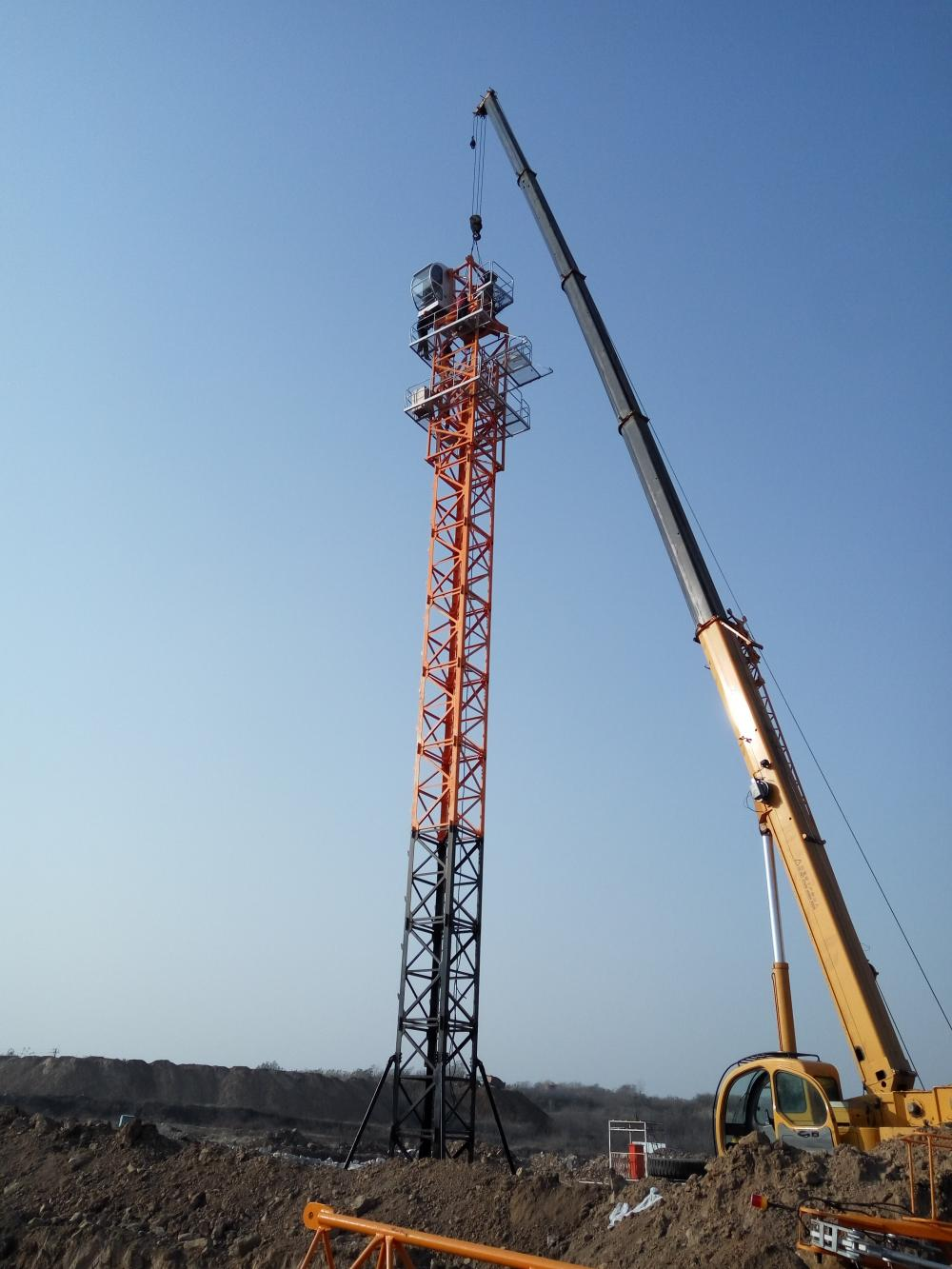 Well Known Dubai Tower Crane