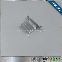 Perfil de extrusión de aluminio con ranura en T de LED y disipador de calor