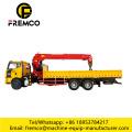 Sinotruk 371HP Cargo Truck Crane