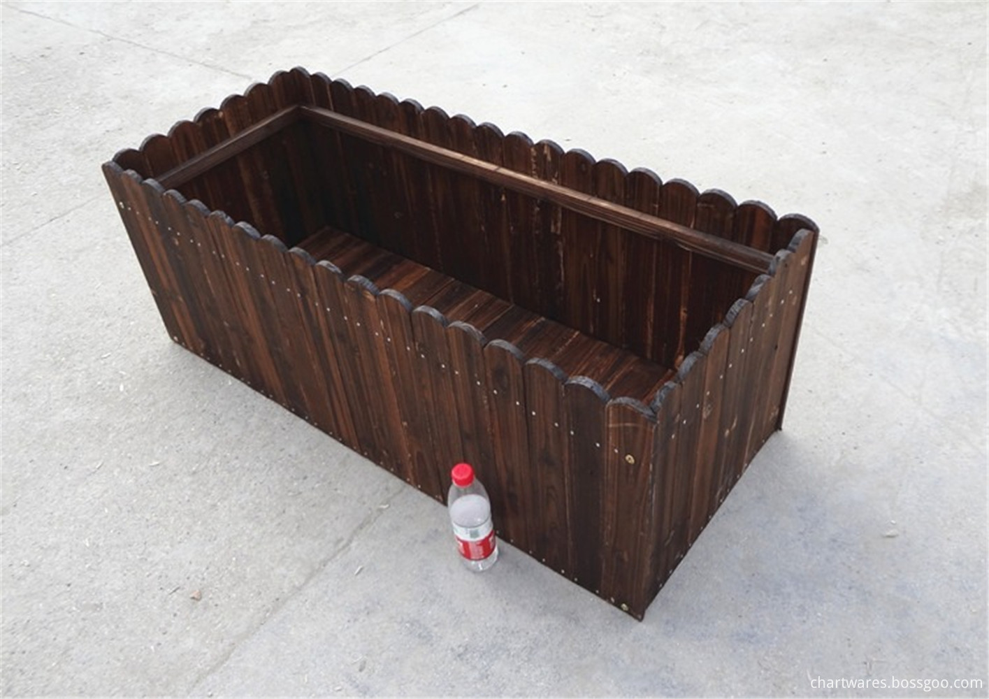 joker wooden flowerpot box