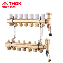 Manifolds for Underground heating system use in cold weather Manual or Automatic