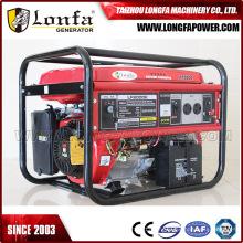 Générateur à la maison de démarrage électrique de 50Hz 220V 7.2kVA avec le délai de livraison court