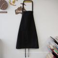 avental preto da cozinha da promoção da economia do kefei