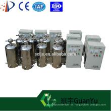 Tratamiento de agua generador de ozono