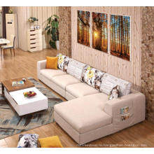 Комфортабельный современный диван с откидной спинкой