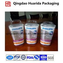 Tiefdruck-PVC-Schrumpfhülsen-Aufkleber, Schrumpfverpackungs-Flaschen-Aufkleber