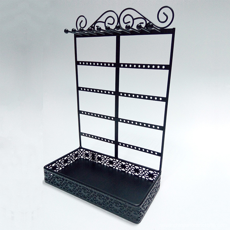 Metal Black Jewelry Rack​