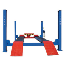 4 post car lift machine with second lift fuction for sale