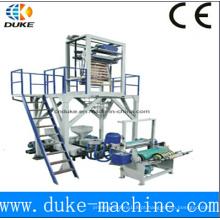Material plástico e saco formando máquina CE padrão plástico transportar saco fazendo máquinas