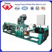 Galvanizado máquina de alambre de púas