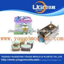 2013 Nuevo molde plástico del envase de la batería del hogar y buen molde de la caja de herramientas de la inyección del precio