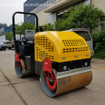 Ride On Double Drum Vibratory Roller Compactor Road