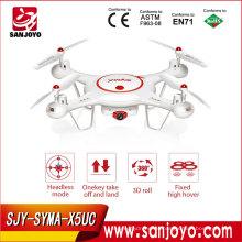 ¡El más nuevo! Syma X5UC 4-axis Quadcopter RC Drone RC Helicóptero al aire libre con cámara WIFI Syma RC Helicóptero