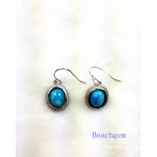 Fashion Larimar Jewelry Earrings (E1303)