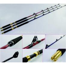 GMR100 ITFZA502437D Juego de troling de pie con guías de rodillos caña de pescar de agua salada