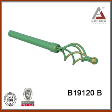 B19120B home decor wrought iron curtain rod finials,home decor accessories hardware