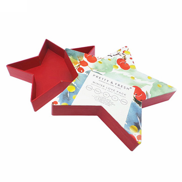 Fancy Birthday Star Shaped Paper Gift Box
