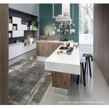 2017 Lackfarbe MDF Küchenschrank