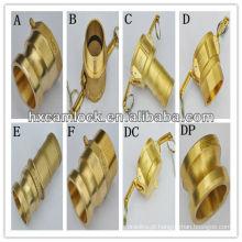 Conexões de tubulação de bronze rápido