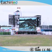 La pantalla de visualización de pared de video de LED al aire libre HDMI P4 más barata a la venta