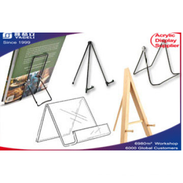 Acrylic Clear Tabletop Easels Display, Cell Phone Stand