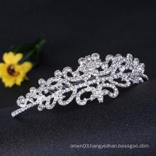 Clear Stone Crown Bridal Rhinestone Tiara Comb