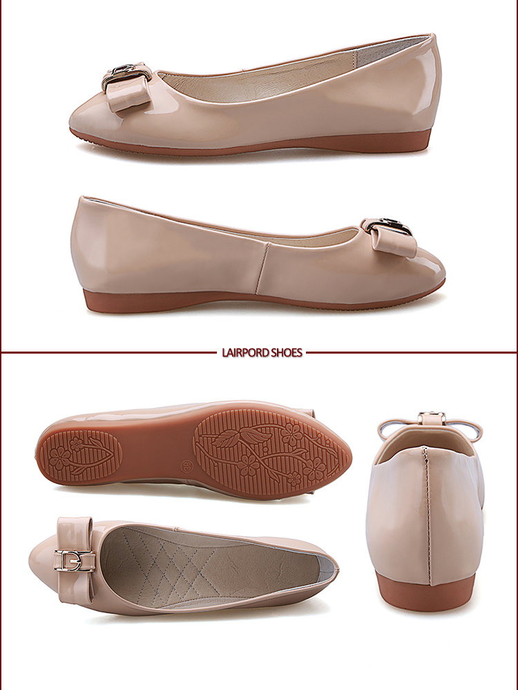 flat women simple shoes