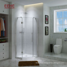 Luxury Sauna Shower Cabin with Frosted Glass and Accessory