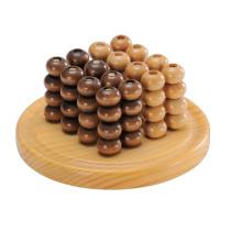 Abacus de madera contando juego y tablero de ajedrez (CB1002)