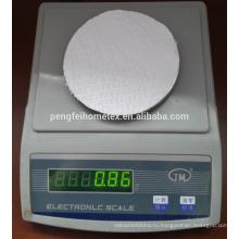 100% микрофибра белый цвет полосатые использовано для домашнего тканья