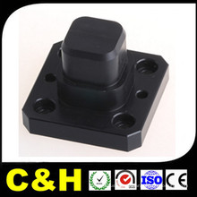 Custom ABS / POM / PP / PC / Acrylic Plastic CNC Usinage Turning Milling Precision Parts