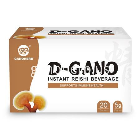 GANOHERB Organic Instant Reishi Beverage Tea Bags