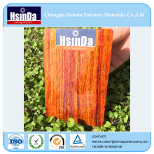 for Cabinets Different Texture High Quality Heat Transfer Wood Grain Powder Coating