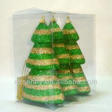Ornamento delicado de la bola del poliestireno de la Navidad