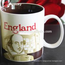 CIQ FDA LFGB BSCI approved ceramic stoneware mugs porcelain mug