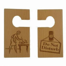 Wood Door Hanger, Suitable for Room/Office, OEM Orders are Accepted