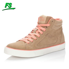 golden suede casual sneakers,best fashion sneakers for girl,latest design flat casual sneakers