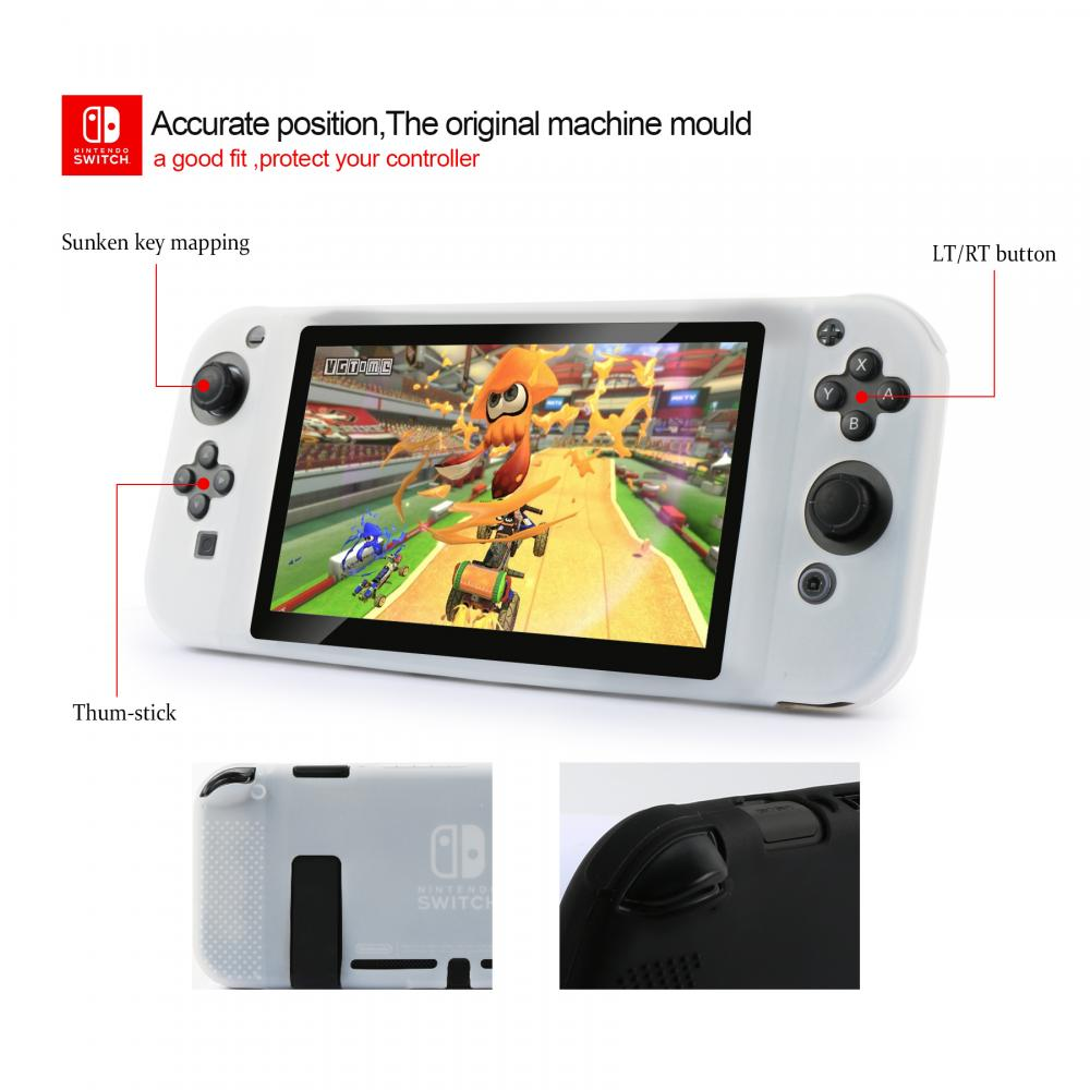 Nintendo Switch Stretch Grip Silicon Case