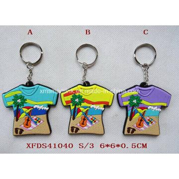 Rubber Tourism Dressing Key Chain, Silicone Tourism Dressing Magnet. Clip de vinaigrette de PVC personnalisé